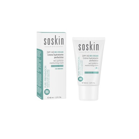 Soskin BB cream Skin-perfector moisturizing cream 02 Medium